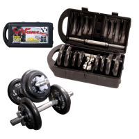 CAP Adjustable Barbell Set with Case