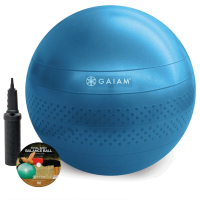 Gaiam Total Body Balance Ball Kit with Pump and DVD